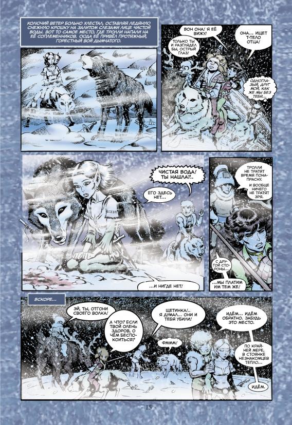 Сага о лесных всадниках. Книга 4. Конец поисков
